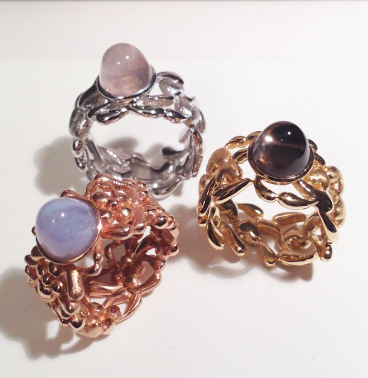 www.blossomcopenhagen.com NEW 2015 rings all sterling silver with different platings. Really romantic look with the orginal Blossom hearts or flower pattern... :)