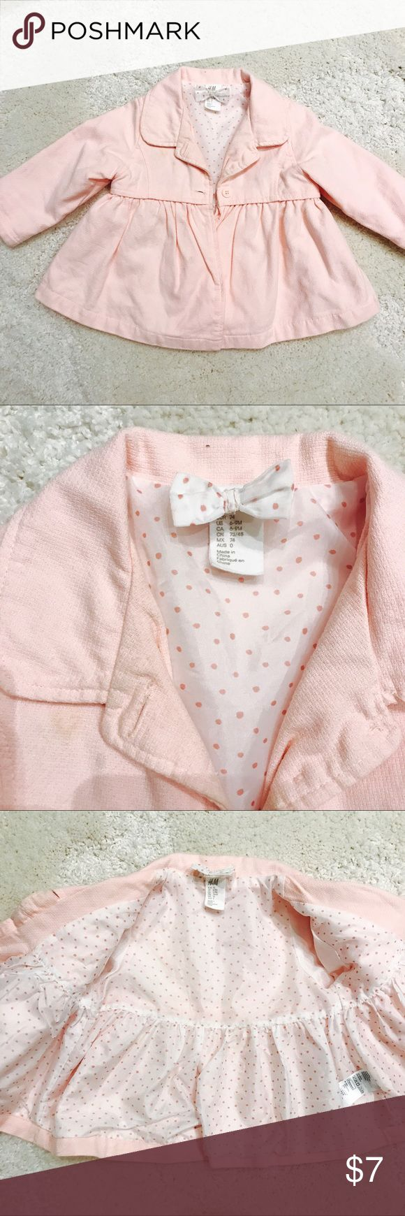 🌸H&M Baby girl Trench Coat🌸 Cutest trench coat for little girls. In a good condition😍 H&M Jackets & Coats