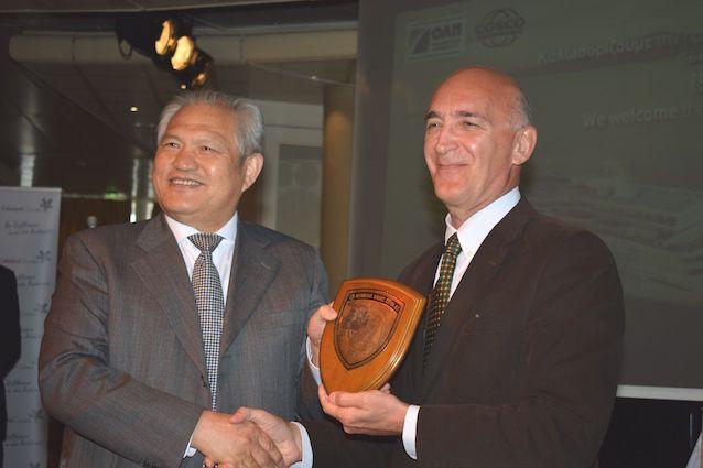 H Διοίκηση του ΟΛΠ και η Celestyal Cruises υποδέχτηκαν τη πρώτη ομάδα κινέζων τουριστών κρουαζιέρας