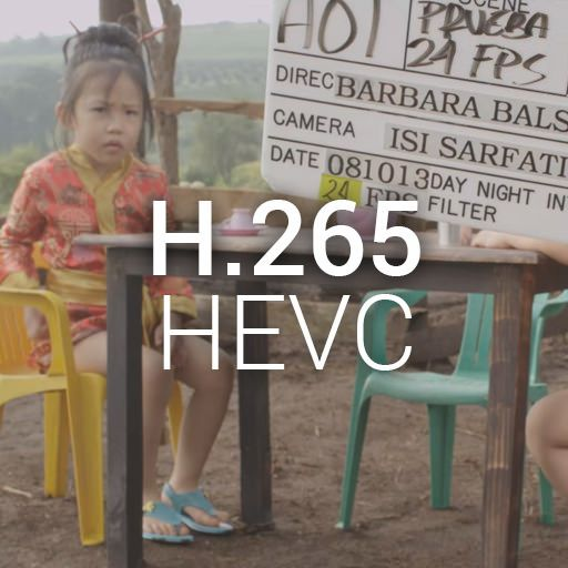 A company called CineMartin just released a few sample shots from a video converted from ProRes4444 to H.265 HEVC (High Efficiency Video Codec). That's a compression from 560MB to just 4.9MB without practically any visible difference!