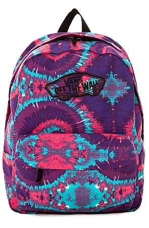 Vans Backpack Realm Tie Dye in Pink Purple - Karmaloop.com