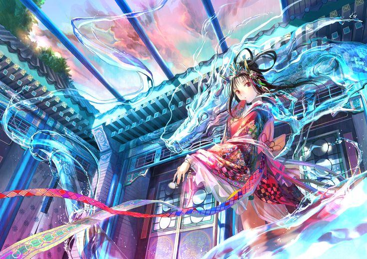 龍王の娘 / Artist: http://www.pixiv.net/member.php?id=27517