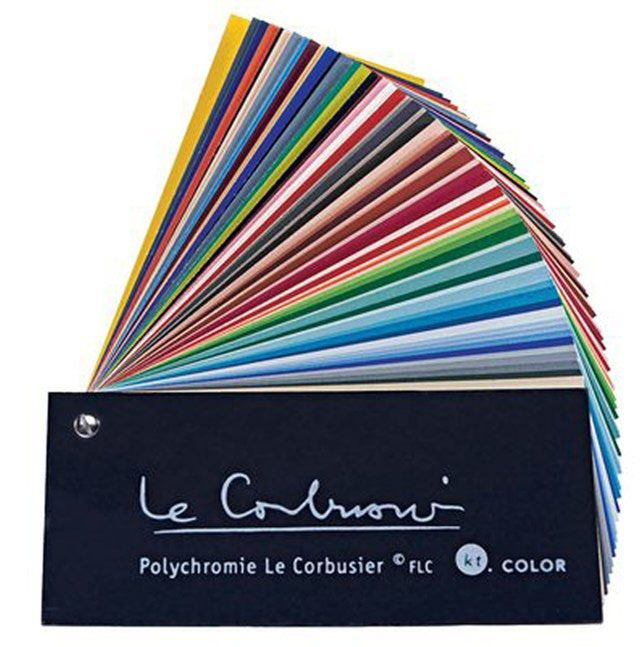 Use These Color Palettes for Your Home Painting Projects: Le Corbusier Palette