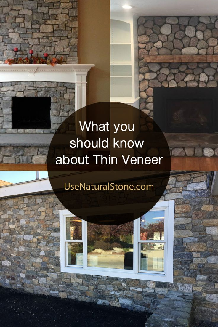 Fireplace stone thin natural veneer by stoneyard - What You Should Know About Natural Thin Stone Veneer