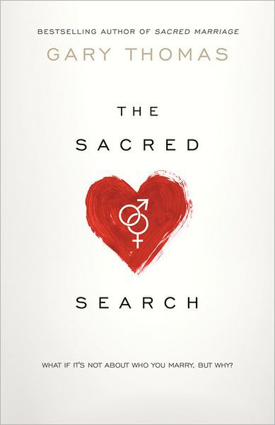 The Sacred Search by Gary Thomas. Such a good read!  I want this for Brooklyn for when she is older