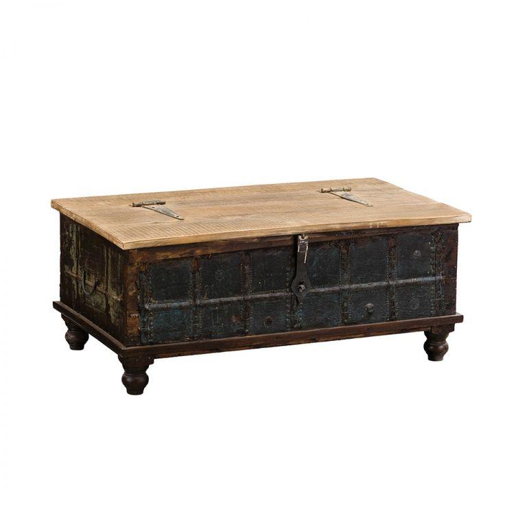 Ari Vintage Trunk - Coffee & Side Tables - Living