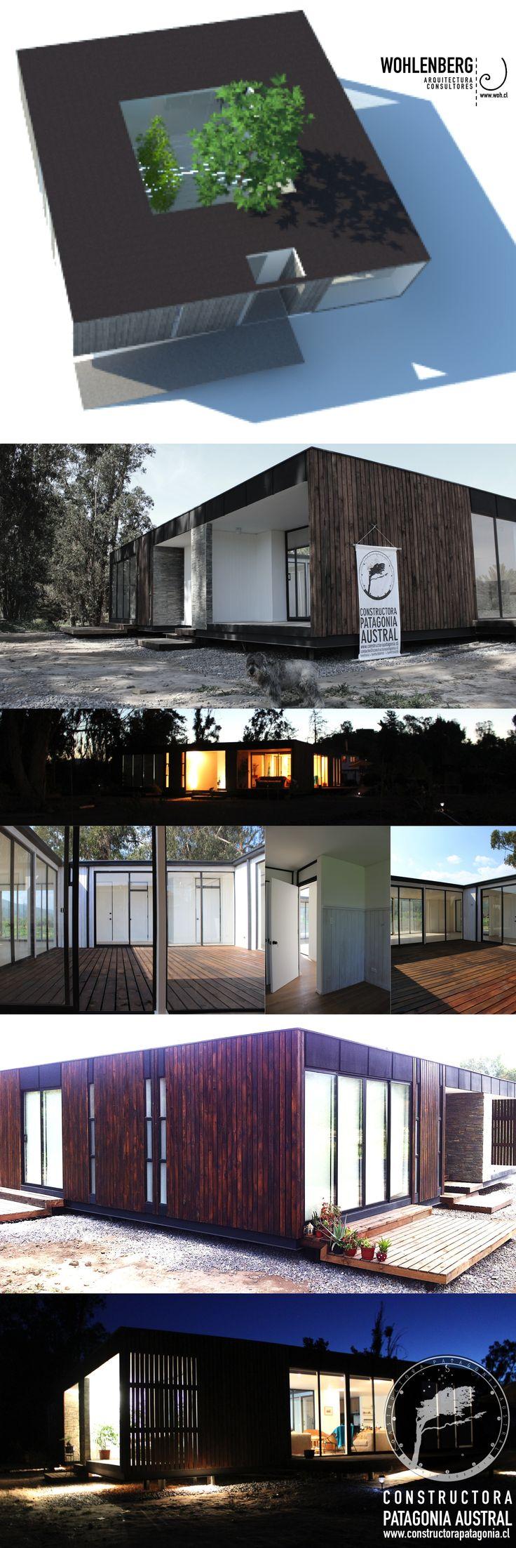 Casa Weisntein, Arquitecto Johann Wohlenberg, Constructora Patagonia Austral. Chilean house