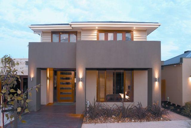 Exterior colour scheme featuring dulux knuckle point - Exterior house paint colours south africa ...