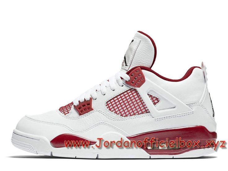 new style 84d2e 1a62e ... Air Jordan 4 Retro ´Alternate´ 308497106 Homme Nike Jordan Prix Pour  Chaussures Blanc- ...