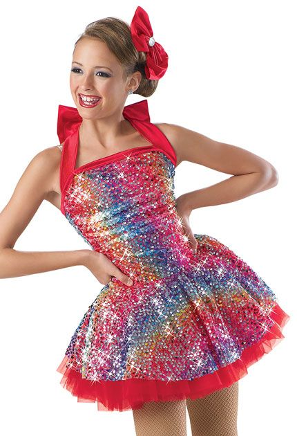 "Dance Costume, for a routine to ""candy man"""