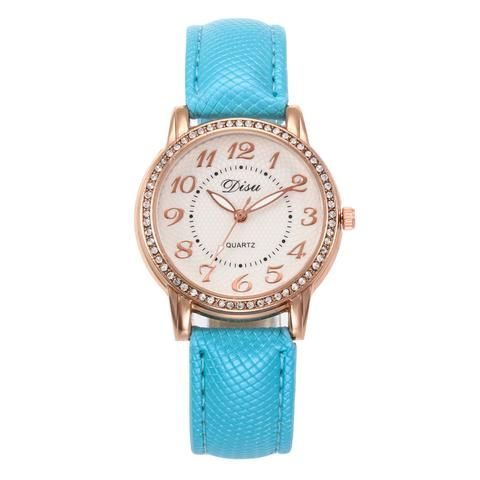 3f25030ffcc 2018 Top Luxury Ladies Quartz Watch Women Brand Fashion Leather ...