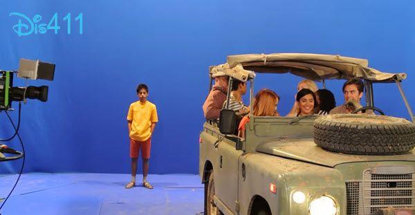 "Behind The Scenes Video From Karan Brar Of Filming ""Jessie"" Episode ""But Africa Is So-Fari"" - Dis411"