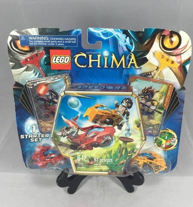 Lego Starter Set Chima Battles (70113) Building Toy 93 pcs/pzs #LEGO