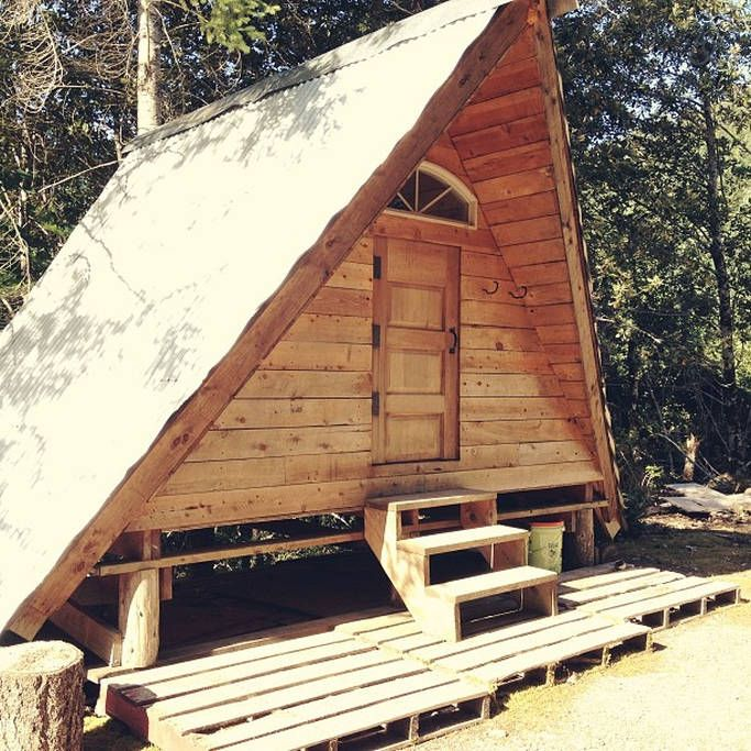 7 Clever Ideas For A Secure Remote Cabin: 1000+ Images About Tiny Stays; Big Adventure On Pinterest