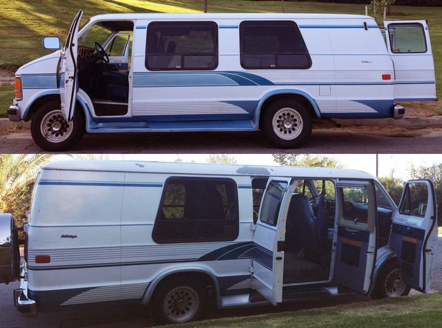 Picture Of 1993 Dodge Ram Van B350 Maxi Extended Cargo Rwd