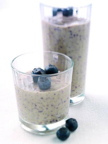 Blueberry & Banana Smoothie