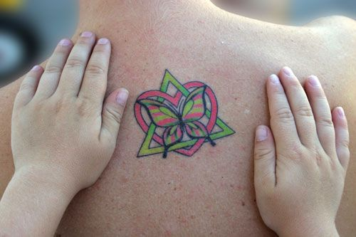 I have been looking for the right tattoo to portray how i for Adoption symbol tattoos