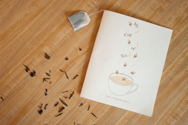 My Cup of Tea by Emily Soo, via Behance