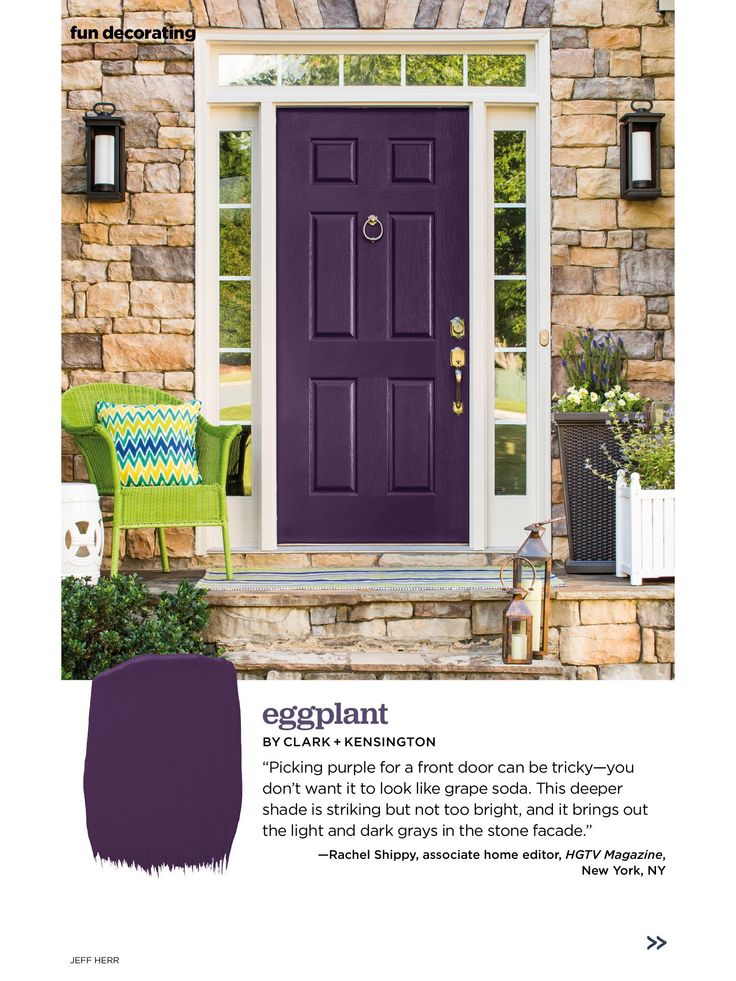 purple door hgtv magazine front doors paint colors october entry doors entrance doors paint colours colors