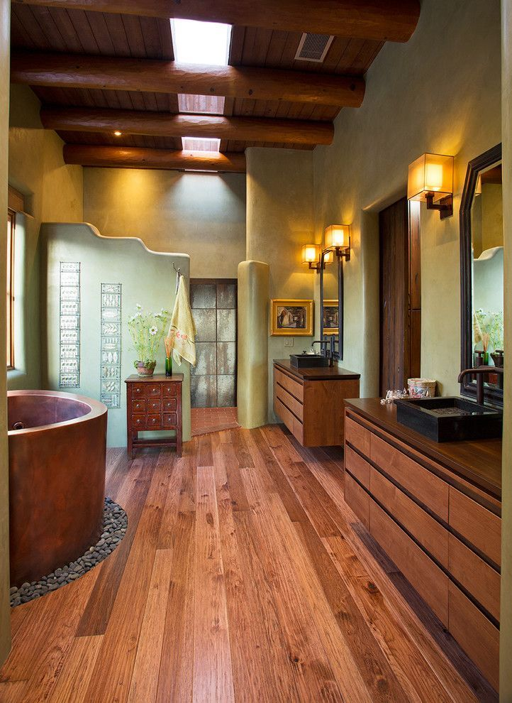 A Collection Of Interior Designs Featuring 17 Colorful Southwestern  Bathroom Designs To Inspire You.