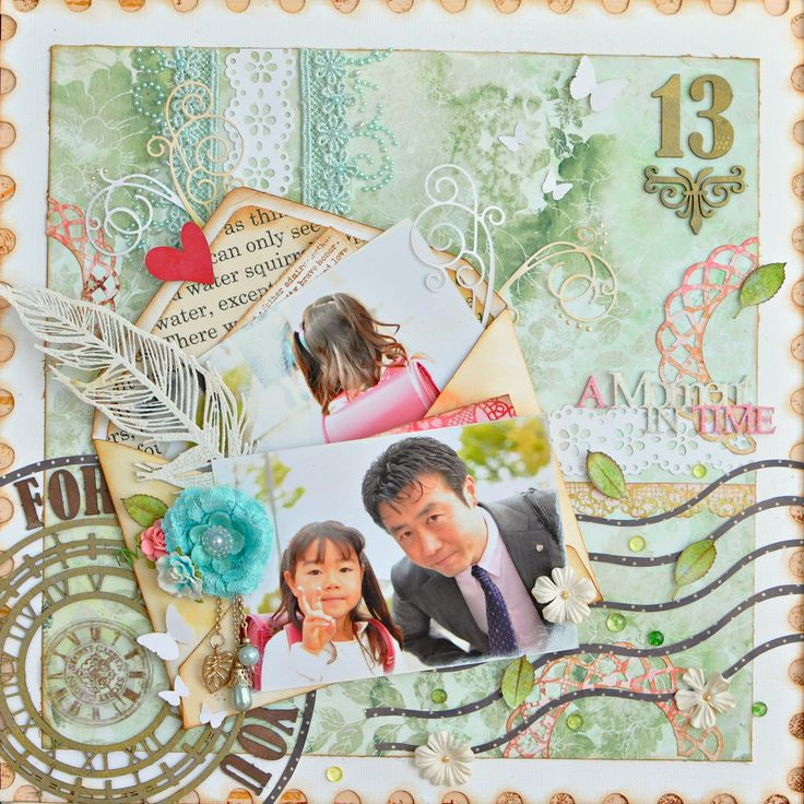 This is a layout for the Imaginarium Designs DT work. 2013/04