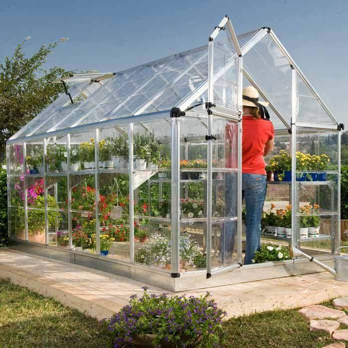 Snap Grow Backyard Greenhouse Garden Pinterest