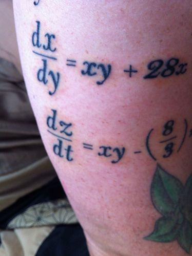 Chaos Tattoo Chaos theory tattoo art | Flickr - Photo Sharing!
