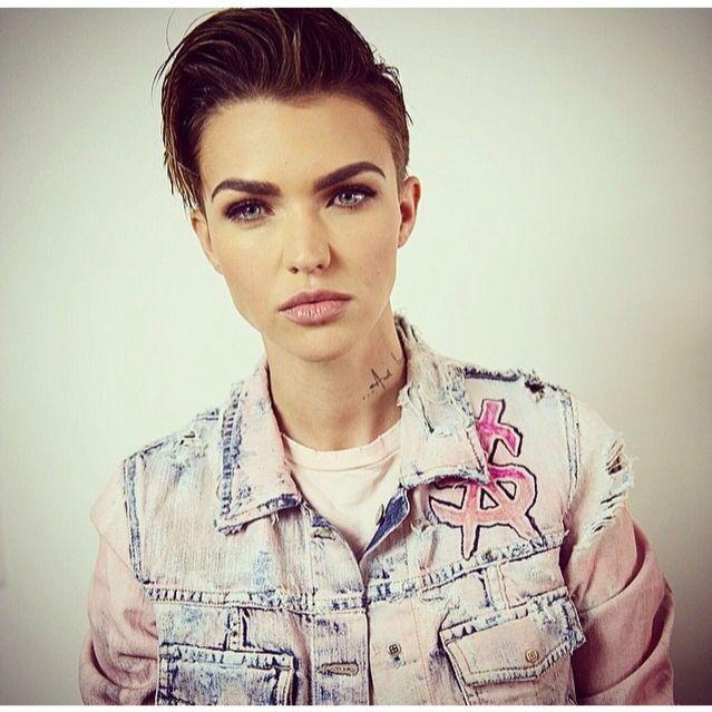 Ruby Rose modelling, image by Theboardchairman. The eye makeup is beautiful!