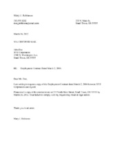Job Agreement Letter