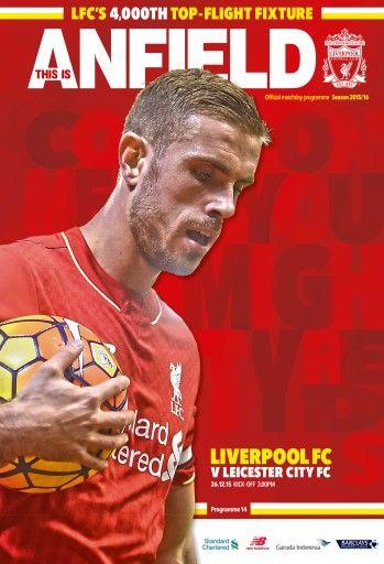 Liverpool FC's 4000th top flight fixture