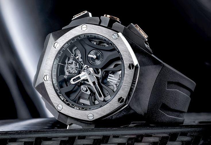 Audemars Piguet Royal Oak Concept Laptimer Watch With Dual Seconds Chronograph