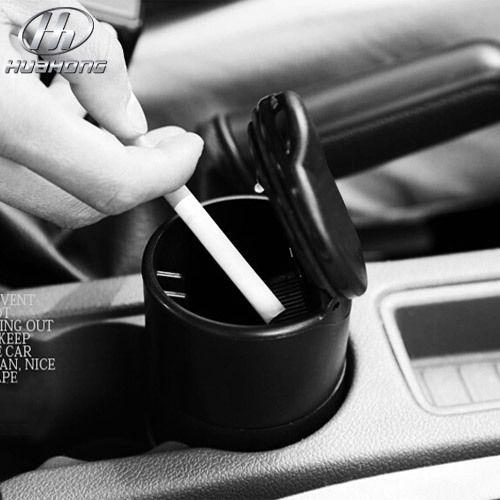 سيارة منفضة السيارات منافض المصنوع عالية لهب pbt المواد أسود اللون الداخلي التصميم منتجات الديكور