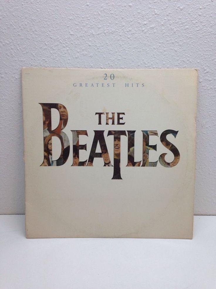 "The Beatles 20 Greatest Hits 12"" Vinyl Record 45RPM EMI Capitol Records SV-12245"