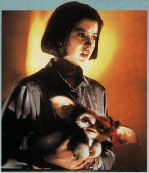 Phoebe Cates in Gremlins 2 (from a 1990 issue of Starlog)