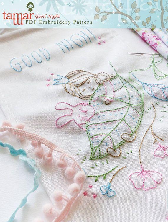Digital embroidery designs Digital artwork by TamarNahirYanai