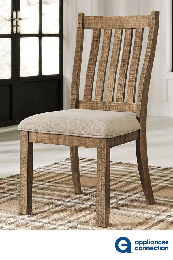 Grindleburg Collection D754 05 20 Dining Side Chair With Fabric