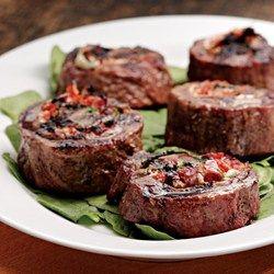 Flank Steak Pinwheels - EatingWell.com
