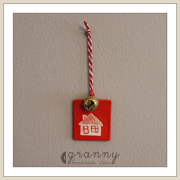 polymer clay christmas ornament