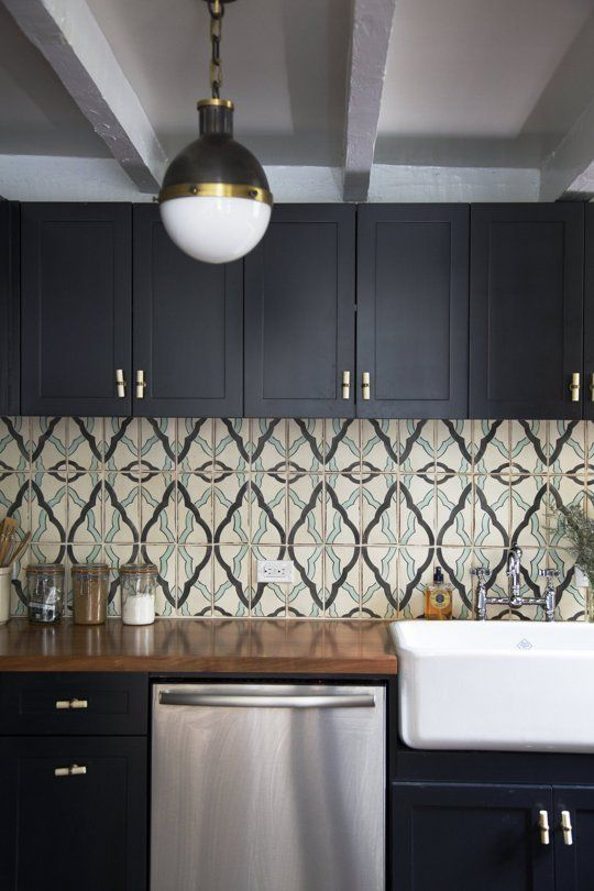 Why It Works: Halle & Jeff's Bold Kitchen | Apartment Therapy