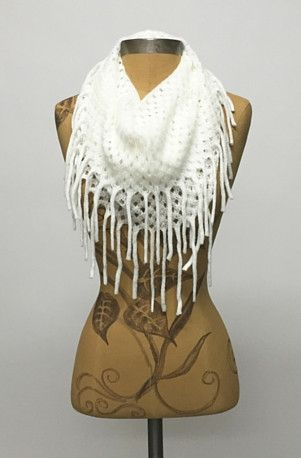 Scarves are essential this fall/winter season and can really elevate your outfit. Our Long Fringe Diamond Pattern Infinity Scarf is a great option for gifting this holiday season and with this price y