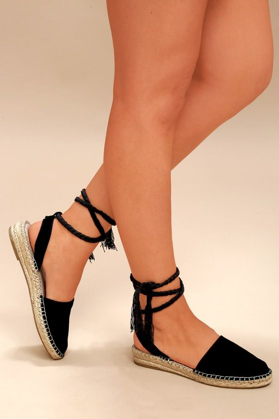 c3b7e731df8 It s all good vibes from here in the Steve Madden Mesa Black Suede Lace-Up