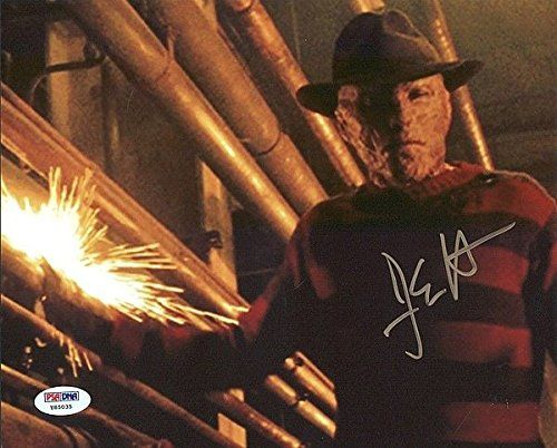 Jackie Earle Haley Nightmare on Elm Street Autographed 8x10 Photo - PSA/DNA Authenticated @ niftywarehouse.com #NiftyWarehouse #NightmareOnElmStreet #Halloween #Freddy #FreddyKrueger #Horror #HorrorMovies