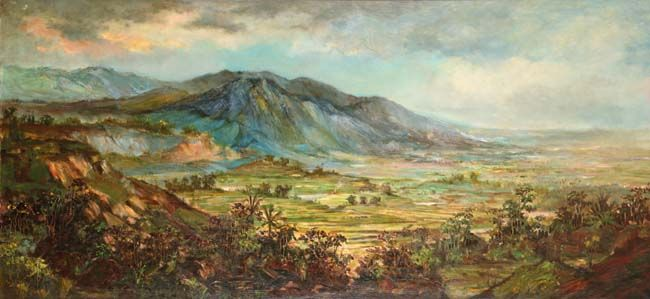 ERNEST DEZENTJE (Jatinegara, 1885 – 1972) Landscape