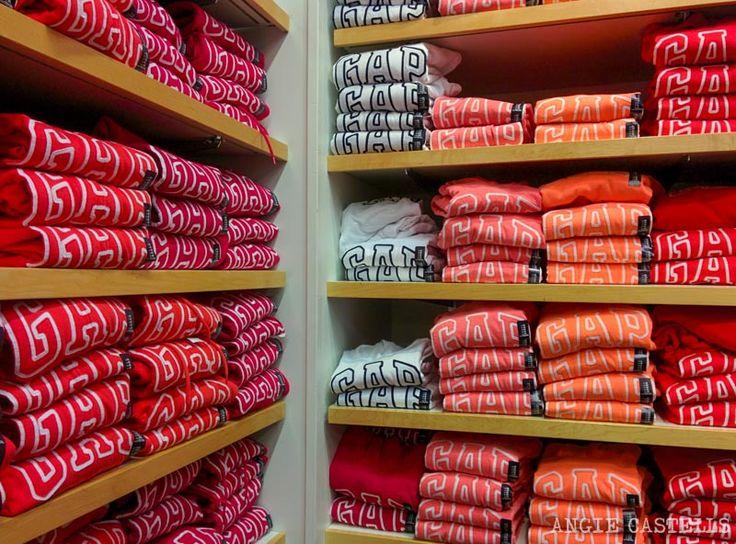 Donde comprar ropa en Nueva York GAP