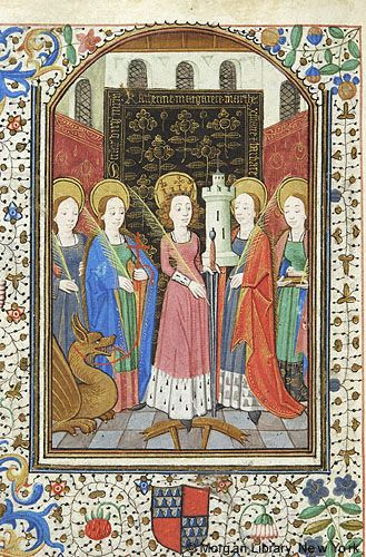 Book of Hours, MS G.55 fol. 128v - Images from Medieval and Renaissance Manuscripts - The Morgan Library & Museum