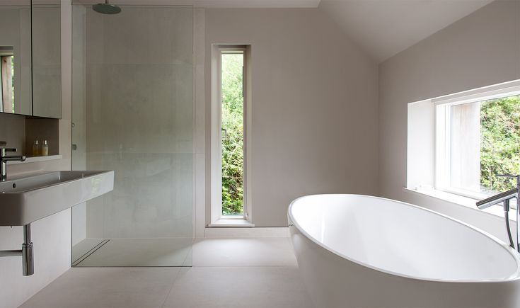 recessed blinds- Architecture in the Country - Mortehoe, Devon