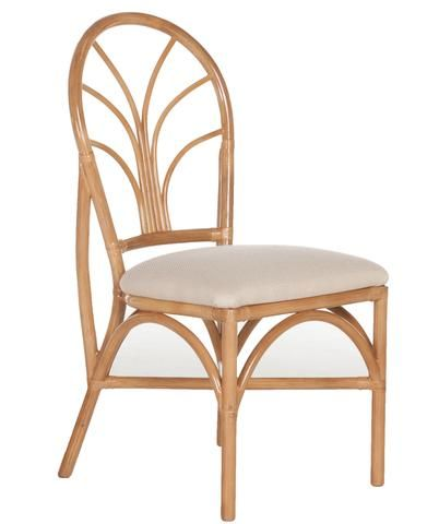 lolita rattan dining chair set of two - Dining Chairs