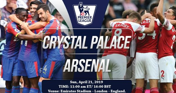 Arsenal Vs Crystal Palace Live Stream Info Online Soccer Tv Channel Live English Premier League 20 Crystal Palace Live Football Match English Premier League