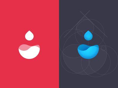 Waterdrop Logo by Seven