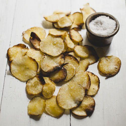 Knusprige Maniok Chips